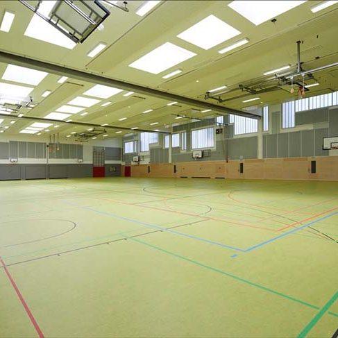 Sporthalle, Sportboden, Geseke, Turnhalle, neu